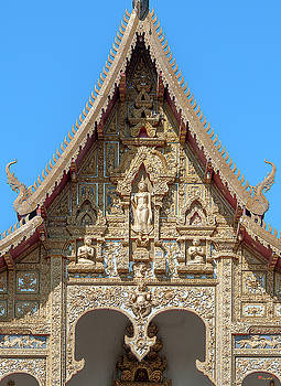 Wat Kumpa Pradit Phra Wihan Gable DTHCM1660 by Gerry Gantt
