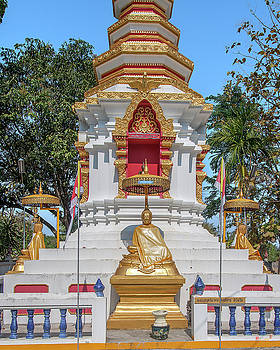 Wat Pa Khoi Nuea Phra That Chedi Buddha Images DTHCM1494 by Gerry Gantt