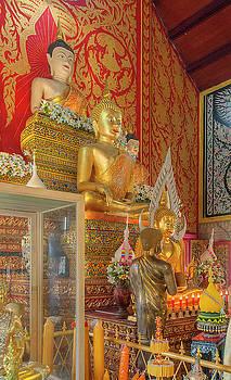Wat Phra That Doi Saket Phra Wihan Buddha Images DTHCM2184 by Gerry Gantt