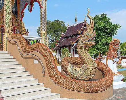 Wat San Pu Loei Phra Wihan Makara and Naga Guardian DTHCM2263 by Gerry Gantt