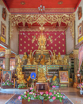 Wat Thung Luang Phra Wihan Buddha Images DTHCM2106 by Gerry Gantt