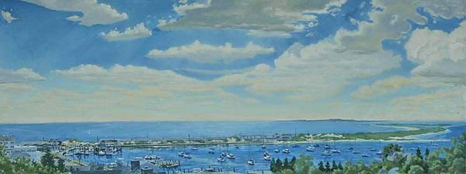 Watch Hill Harbor by David Johnson