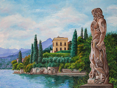 Charlotte Blanchard - Watching Over Lake Como