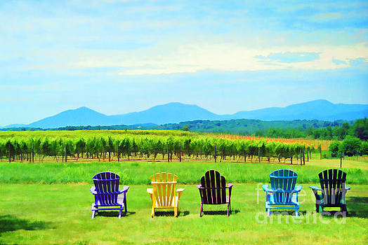 Watching The Grapes Grow by Kerri Farley