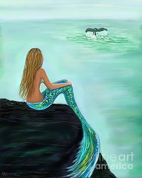 Watching The Splash by Leslie Allen