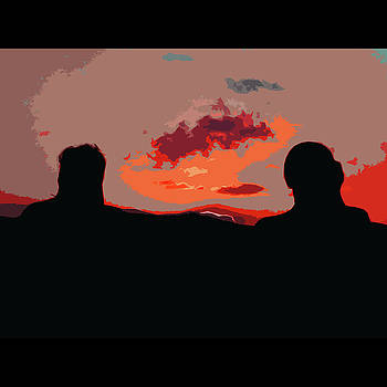 James Hill - Watching the Sunset