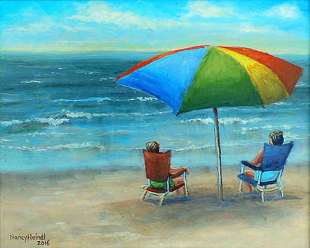 Watching the Waves by Nancy Heindl