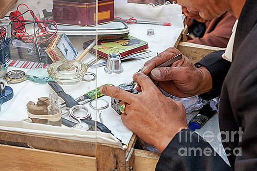 Watchmaker  by Patricia Hofmeester