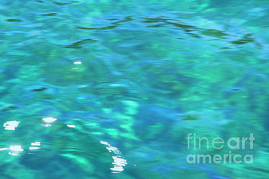 Water Abstract by Ruth H Curtis
