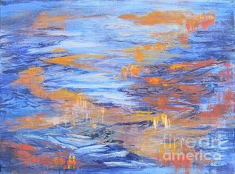 Water Abstract by Vivian Haberfeld