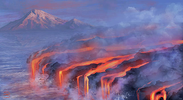 Water and Fire by Stephanie Shimerdla