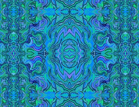 Water Art Pattern  by Julia Woodman