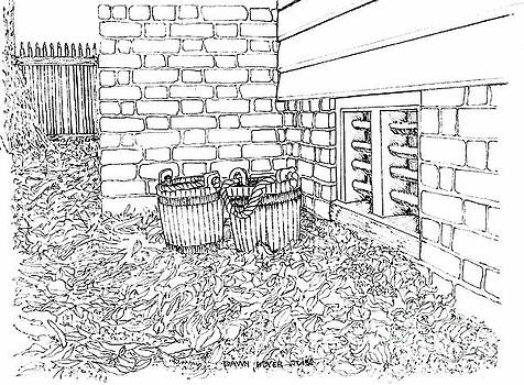 Water Buckets in the Back Corner by Dawn Boyer