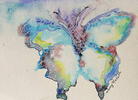 Water Butterfly by Michele Hollister - for Nancy Asbell
