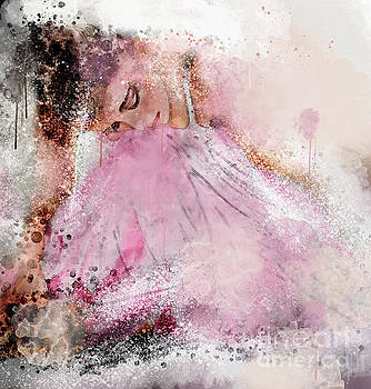 Water Colour Ballerina by Jim Hatch