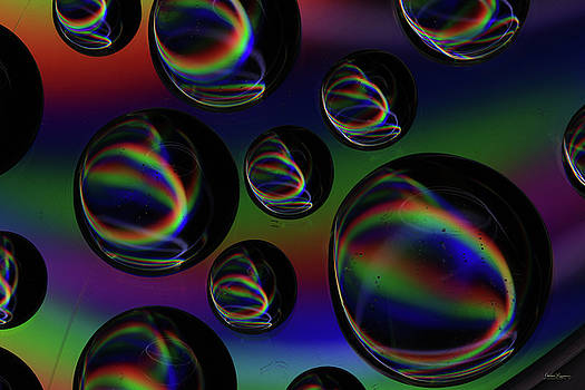 Water Droplets 5 by Andrea Lawrence