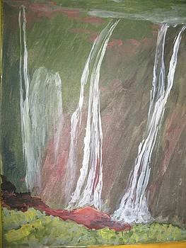 Water fall 1  by Ram Reddy Sudi Reddy