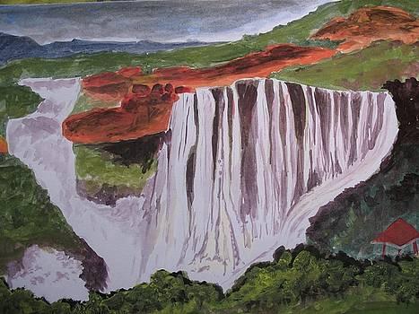 Water Fall 2 by Ram Reddy Sudi Reddy