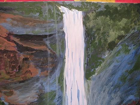 Water Fall 5 by Ram Reddy Sudi Reddy