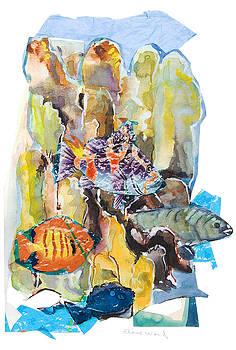 Water Fantasyll by Elaine Ward