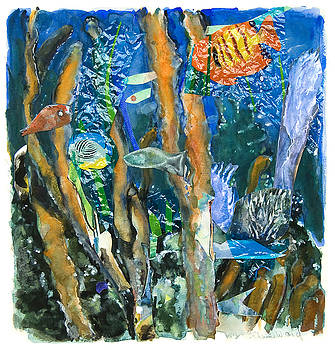 Water Fantasylll by Elaine Ward