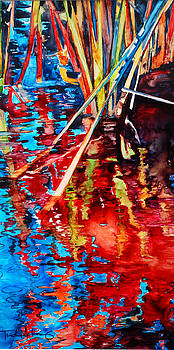 Water Fireworks II by Trish McKinney