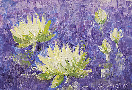 Water Flowers by Khromykh Natalia