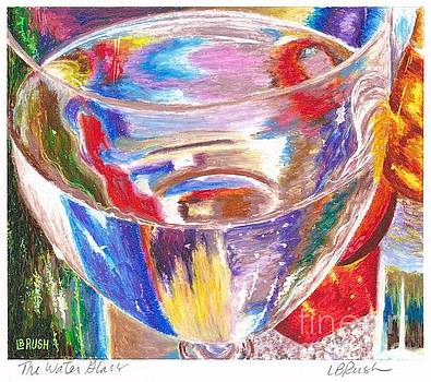 Water Glass by Lisa Bliss Rush