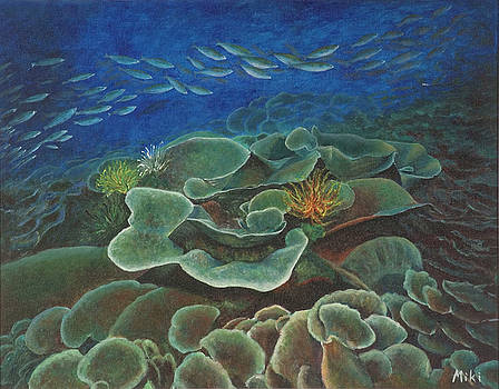 Water Life floral by Miki  Sion