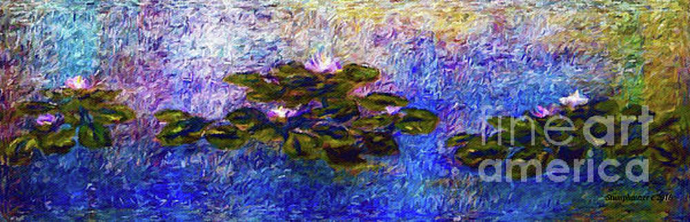 Water Lilies An Impression by Jerome Stumphauzer
