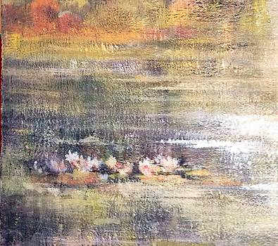 Water lilies at Trout Lake by Judy Osiowy