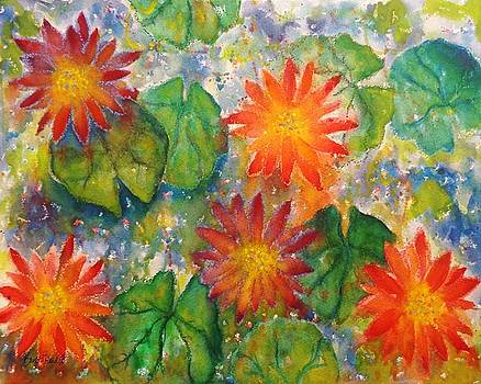 Water Lilies by Barb Toland
