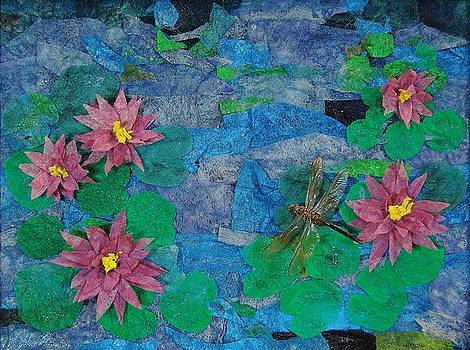 Water Lilies by Charla Van Vlack