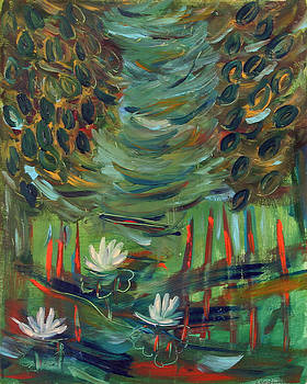 Water lilies by Maggis Art