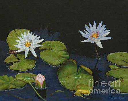 Water Lilies by Michael Nowak