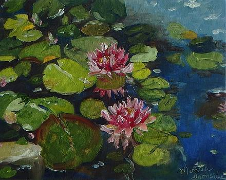 Water Lilies by Monica Ironside