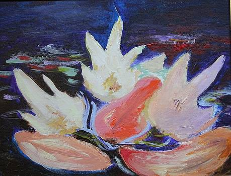 Water Lilies by Nataliya Yutanova