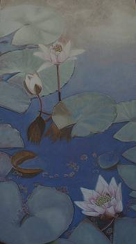 Water Lillies by Joan Cookson
