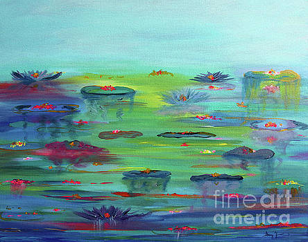 Water Lillies by Stacey Zimmerman