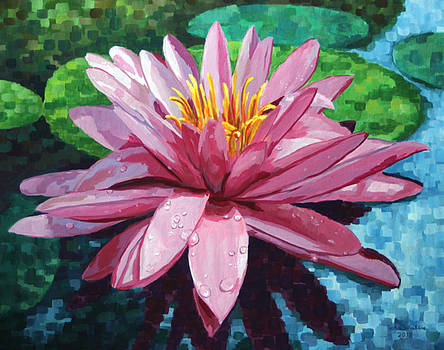 Water Lily by John Wallie