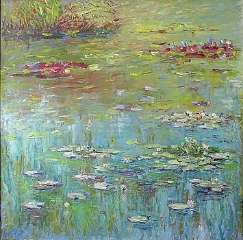 Water Lily Pond by Liudvikas Daugirdas