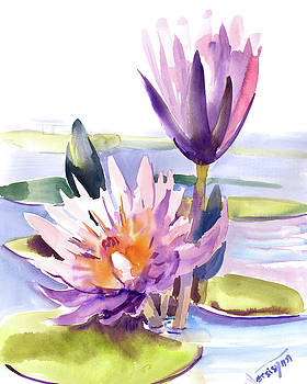 Water Lily by Suren Nersisyan