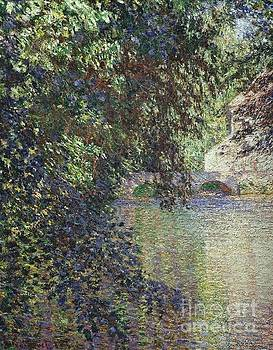 Monet - Water Mill At Limetz