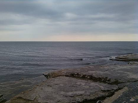 Water on The Rocks by Jackie Bodnar