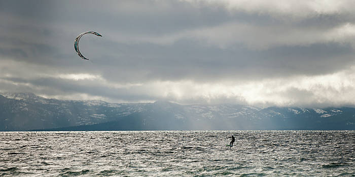 Water Sport on the Tahoe by Chad Davis