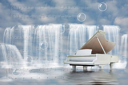Water synphony for piano by Angel Jesus De la Fuente