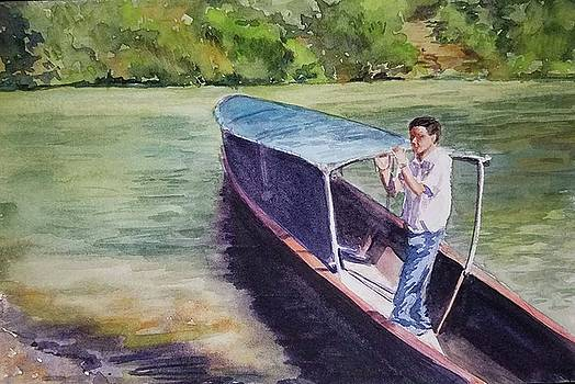 Water Taxi by Lou Baggett