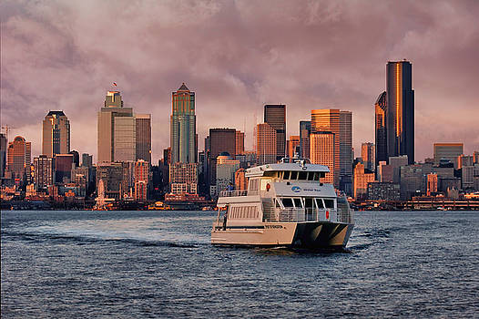 Nikolyn McDonald - Water Taxi - Seattle - Skyline