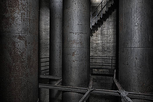 Water tower tubes by Dirk Ercken
