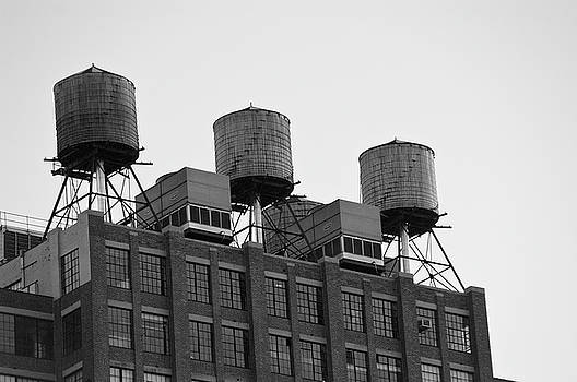 Water Towers by Jose Rojas